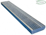 Gitterroststufe XXL 2200x400 mm 30/30 mm