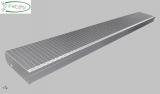 XXL Gitterroststufe 2500 x 350 mm 30/10