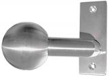 Türdrücker V2A mit Kugel Ø 50 mm links feststehend