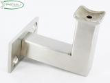 V2A-Handlaufhalter zum Anschweißen/Aufschrauben für Ø 42,4 mm
