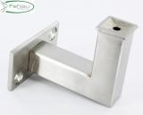 Handlaufhalter V2A zum Anschweißen/Aufschrauben (flach)