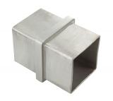 Verbinder V2a zum Stecken und Kleben für 40 x 40 x 2,0 mm