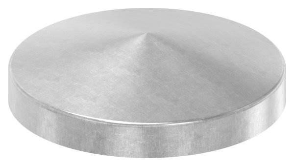 Abdeckkappe | für Rundrohr | Ø 101,6 mm | Stahl S235JR, roh