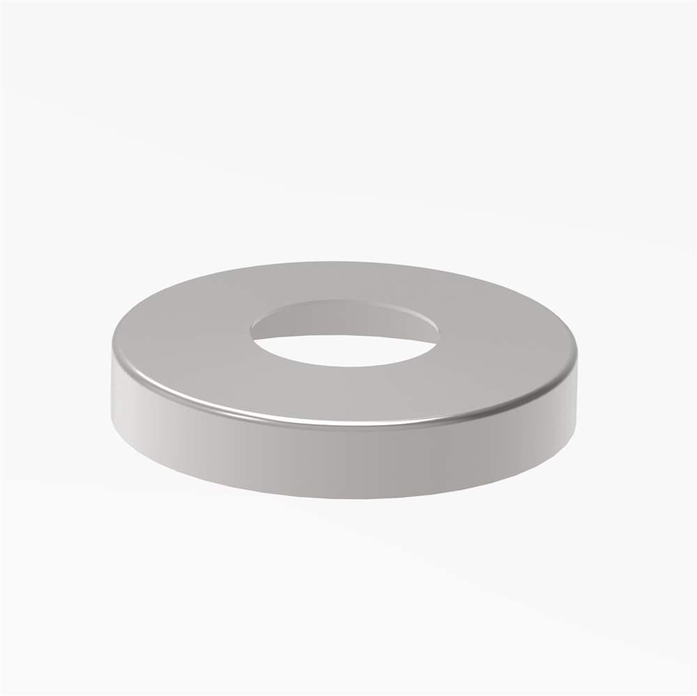 Abdeckrosette Ø 105x20mm für Rundrohr Ø 42,4mm V2A