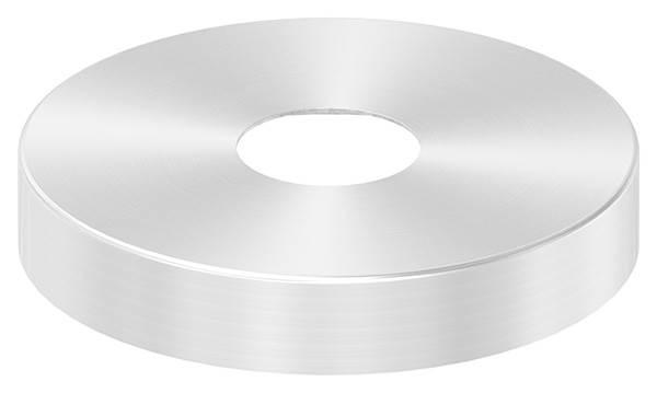 Abdeckrosette | Maße: Ø 145x25 mm | für Rundrohr: Ø 42,4 mm | V2A