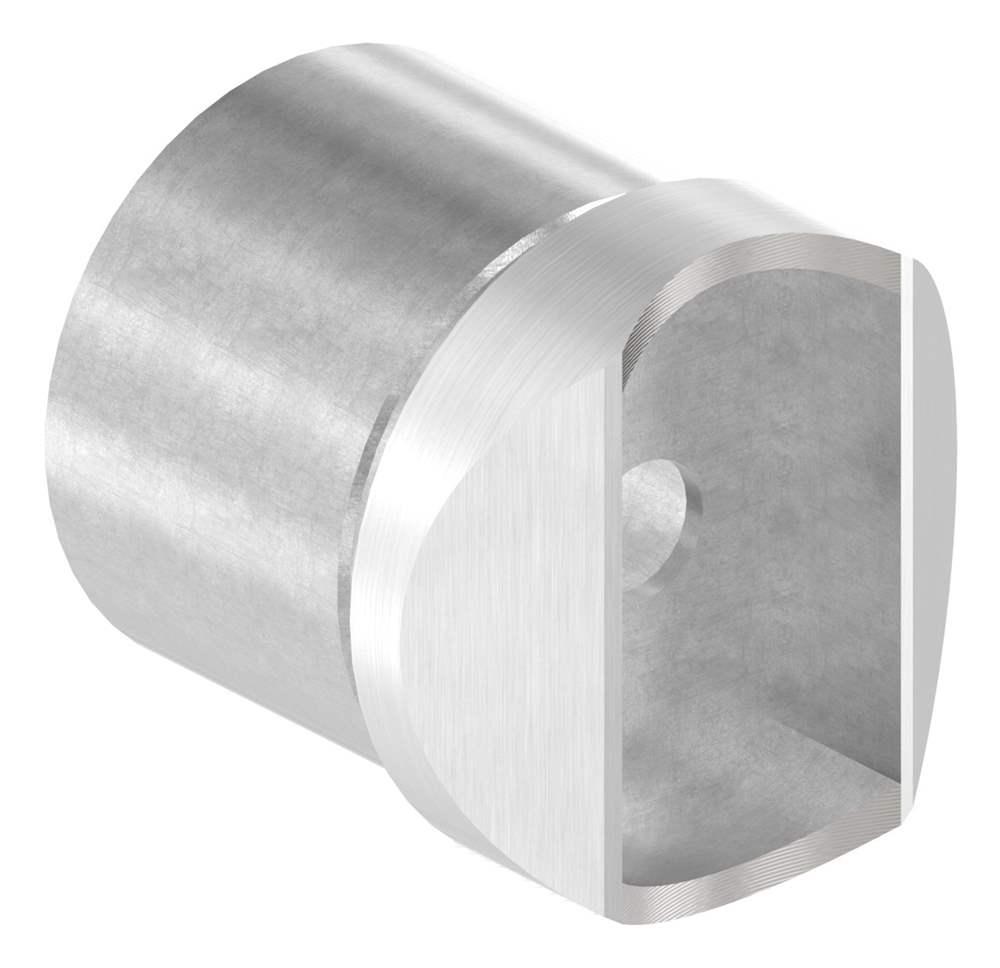 Adapter | für Nutrohr Ø 42,4 mm | V4A