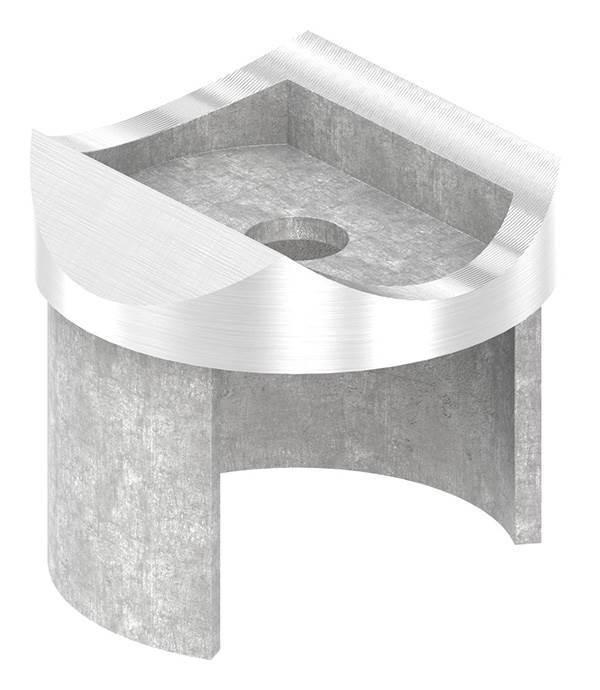 Adapter | für Nutrohr Ø 48,3 mm | V2A