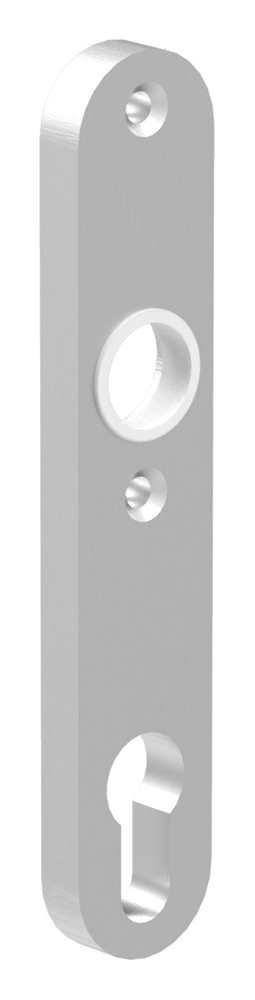 Alu-Kurzschild | Maße: 30x160x10 mm | Aluminium EV1