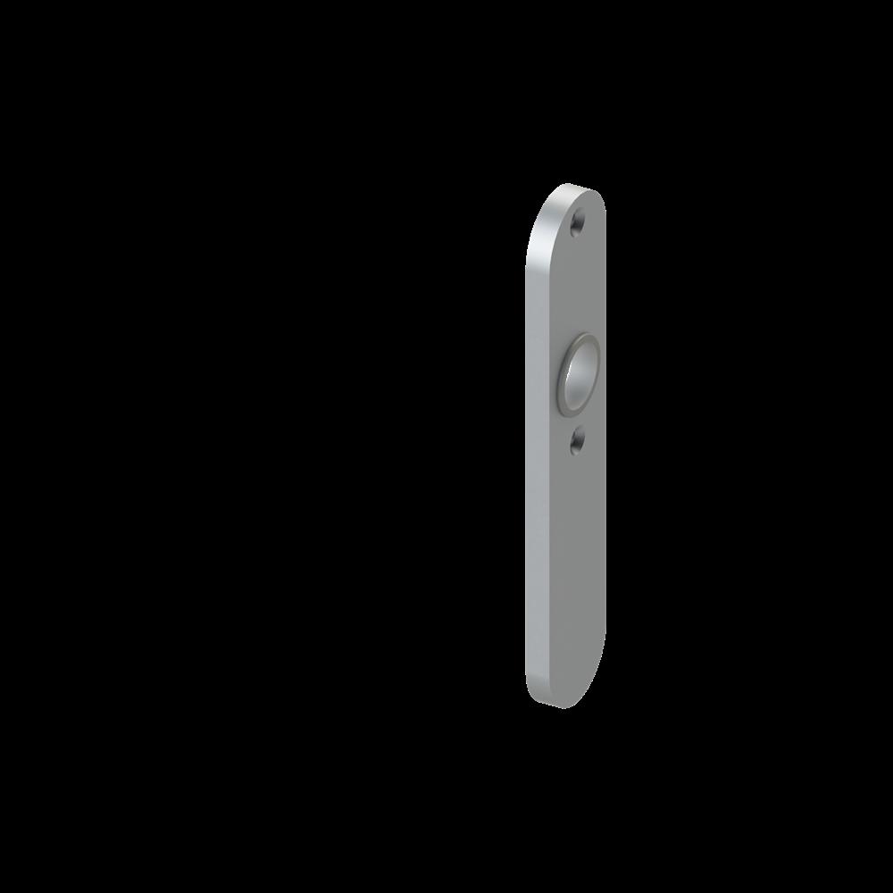 Alu-Kurzschild | Maße: 32x156x7 mm | Aluminium EV1