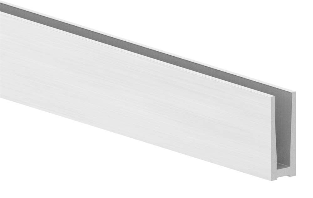 Alu-Profil | MASSIV2 | Länge: 6000 mm | aufgesetzte Montage | Aluminium