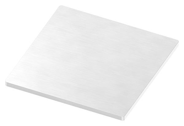 Ankerplatte 100x100x4 mm (ohne Bohrungen) V2A