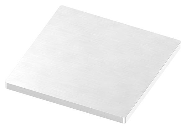 Ankerplatte 100x100x6 mm (ohne Bohrungen) V2A