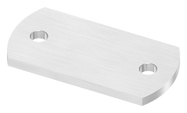 Ankerplatte 100x50x6 mm mit 2x Bohrung V2A