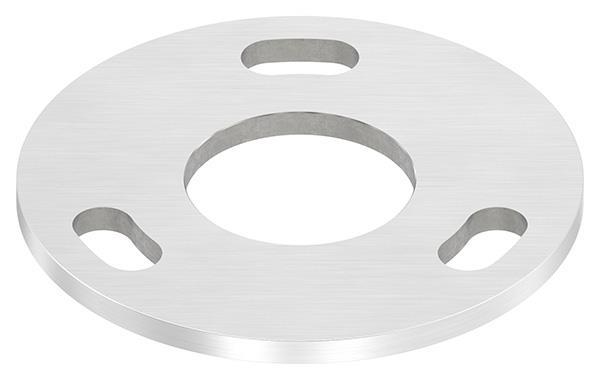 Ankerplatte Ø 120 x 6 mm mit Mittelbohrung Ø 49 mm