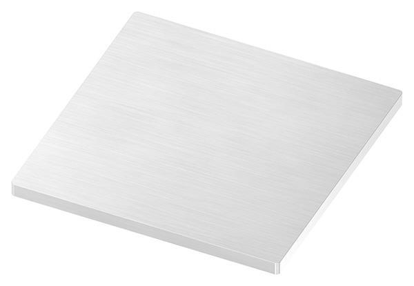 Ankerplatte 120x120x6 mm (ohne Bohrungen) V2A