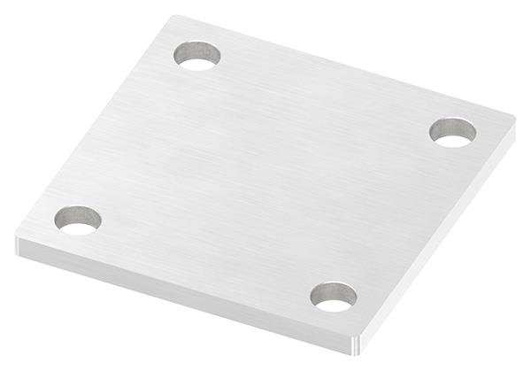 Ankerplatte 92x92x6 mm V2A