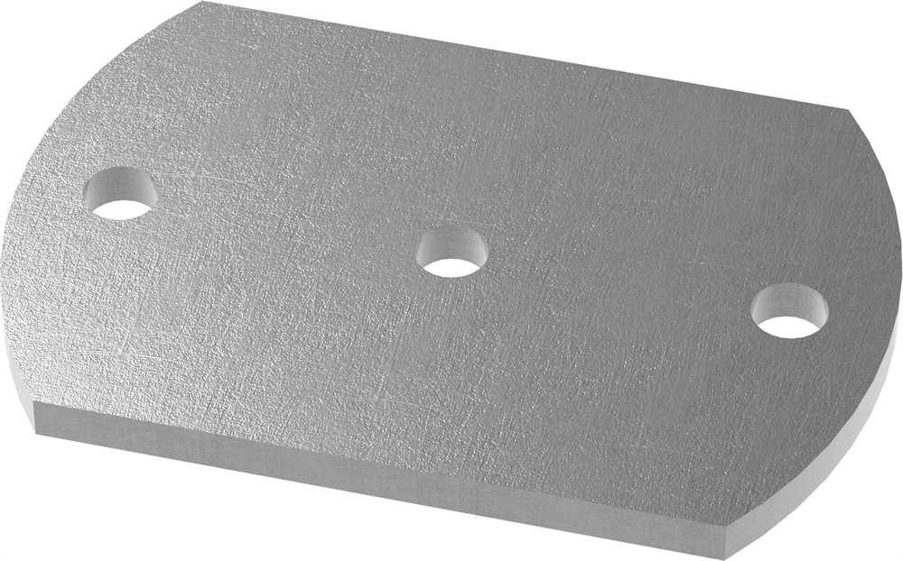 Ankerplatte | Maße: 150x100x10 mm | Stahl (Roh) S235JR