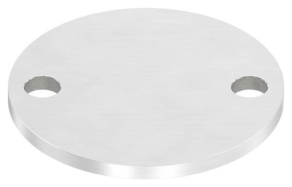 Ankerplatte | Maße: 100x6 mm | Längsschliff | V2A