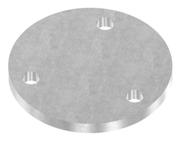 Ankerplatte   Maße: Ø 100x8 mm   Stahl (Roh) S235JR