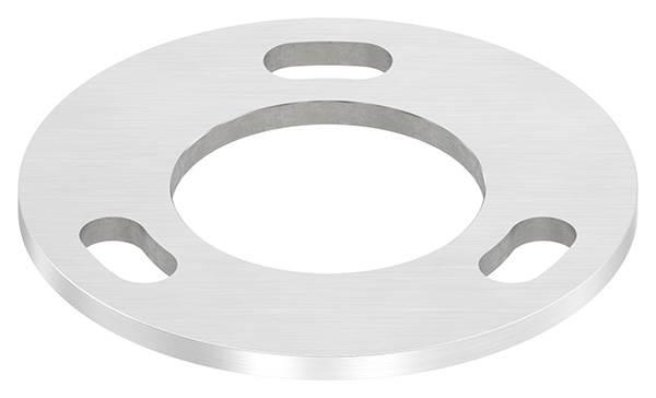 Ankerplatte | Maße: Ø 120x6 mm | Mittelbohrung: Ø 61 mm | V2A