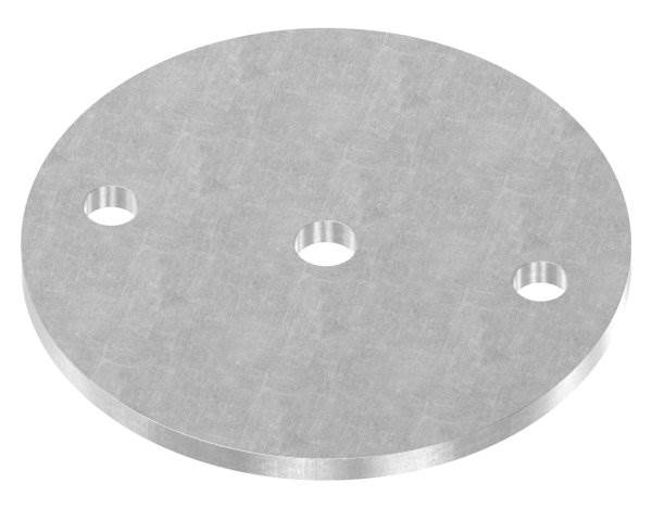 Ankerplatte | Maße: Ø 120x6 mm | Stahl (Roh) S235JR