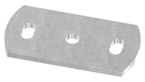 Ankerplatte   Maße: 120x60x6 mm   Stahl (Roh) S235JR