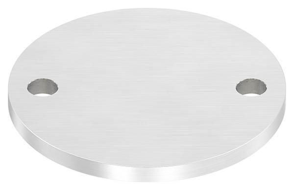 Ankerplatte | Maße: 120x8 mm | Längsschliff | V2A