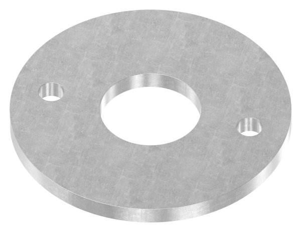 Ankerplatte   Maße: Ø 120x8 mm   Stahl (Roh) S235JR
