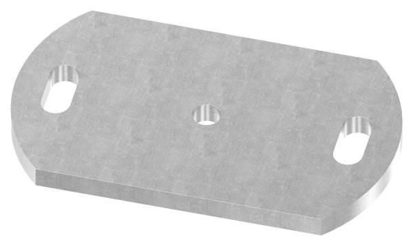 Ankerplatte   Maße: 170x100x10 mm   Stahl (Roh) S235JR