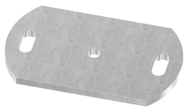 Ankerplatte | Maße: 170x100x8 mm | Stahl (Roh) S235JR