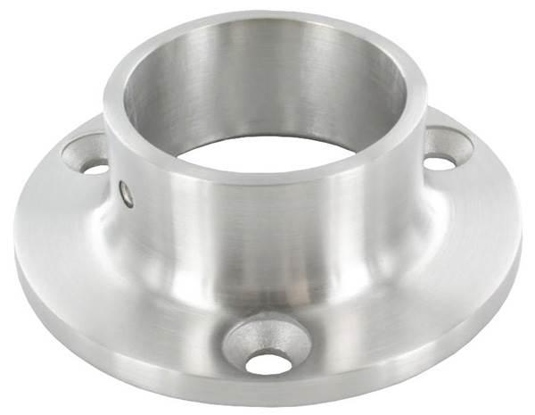 Ankerplatte | Maße: Ø 70 mm | für Rundrohr: Ø 33,7 mm | V4A