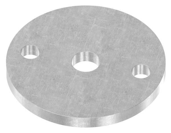 Ankerplatte   Maße: Ø 70x6 mm   Stahl (Roh) S235JR