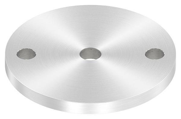 Ankerplatte (rund) 100x8 mm mit Rundschliff V2A