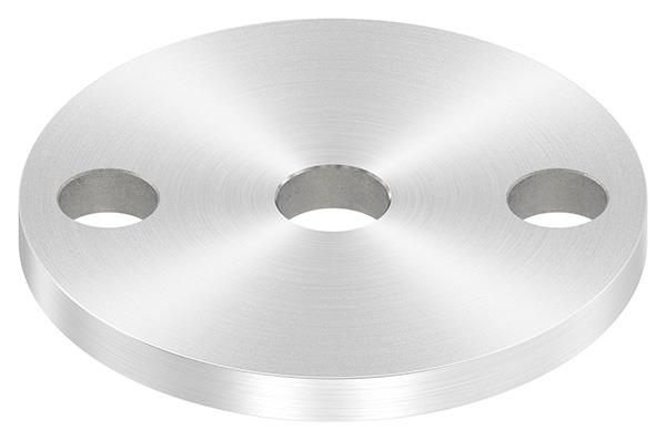 Ankerplatte (rund) 70x6 mm mit Rundschliff V2A