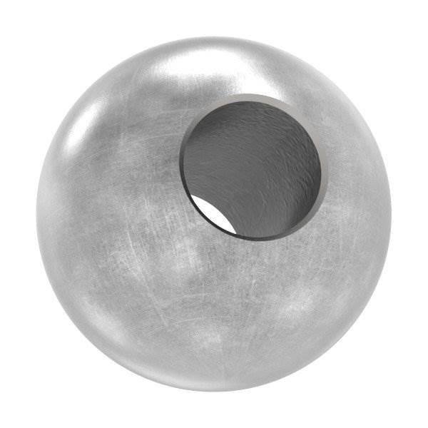 Annietkugel | Ø 10 mm Kopf | Ø 4 mm Bohrung | Stahl S235JR, roh