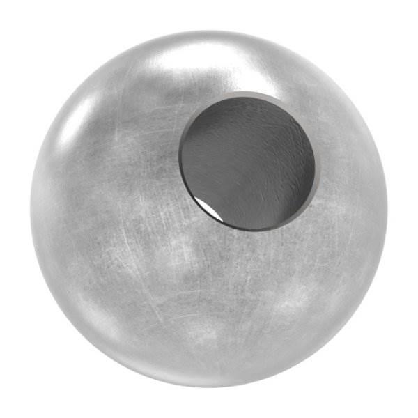 Annietkugel | Ø 13 mm Kopf | Ø 6 mm Bohrung | Stahl S235JR, roh