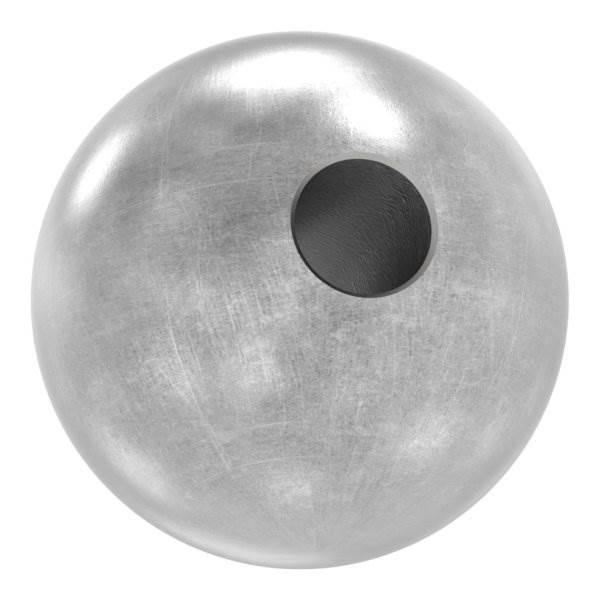Annietkugel | Ø 19 mm Kopf | Ø 5 mm Bohrung | Stahl S235JR, roh