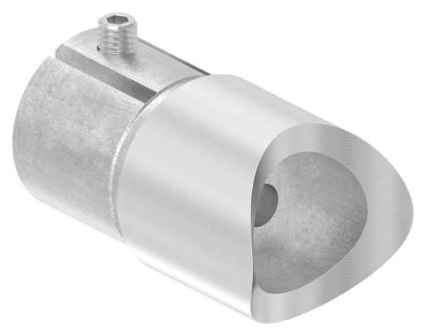 Anschlussstück 90° für Rundrohr Ø 42,4x2,0 mm V2A