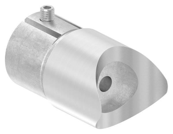 Anschlussstück 90° für Rundrohr Ø 48,3x2,0 mm V2A