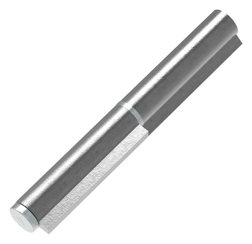 Anschweißband | 2-teilig | Tragkraft: 600kg | massiv | Stahl S235JR, roh