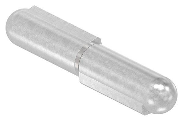 Anschweißband V2A 100 mm mit festem Stift