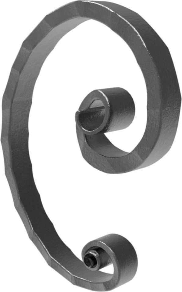 Meisterbarock | Maße: 105x145 mm | Material: 16x8 mm | Stahl S235JR, roh