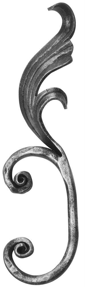 Meisterbarock | Maße: 65x225 mm | Material: 16x8 mm | Stahl S235JR, roh