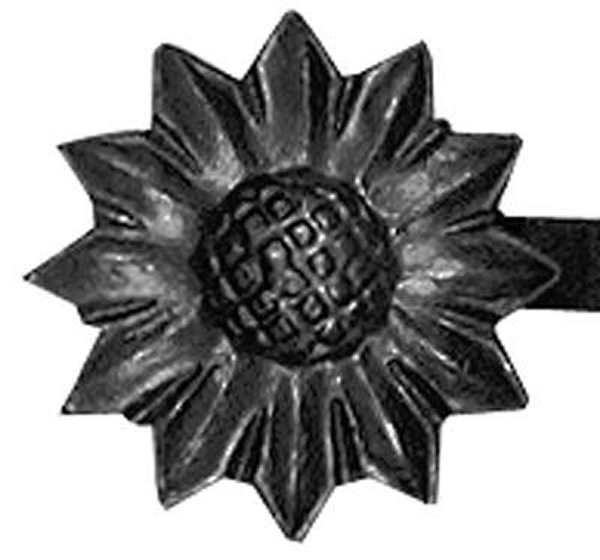 Rosette / Zierteil |  Ø 68x4 mm | Stahl (Roh) S235JR