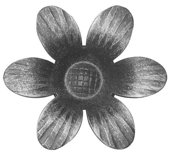 Rosette / Zierteil |  Ø 90x2 mm | Stahl (Roh) S235JR