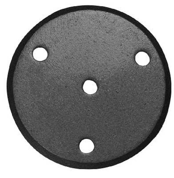 Rosette / Zierteil |  Ø 100x6 mm | Stahl (Roh) S235JR