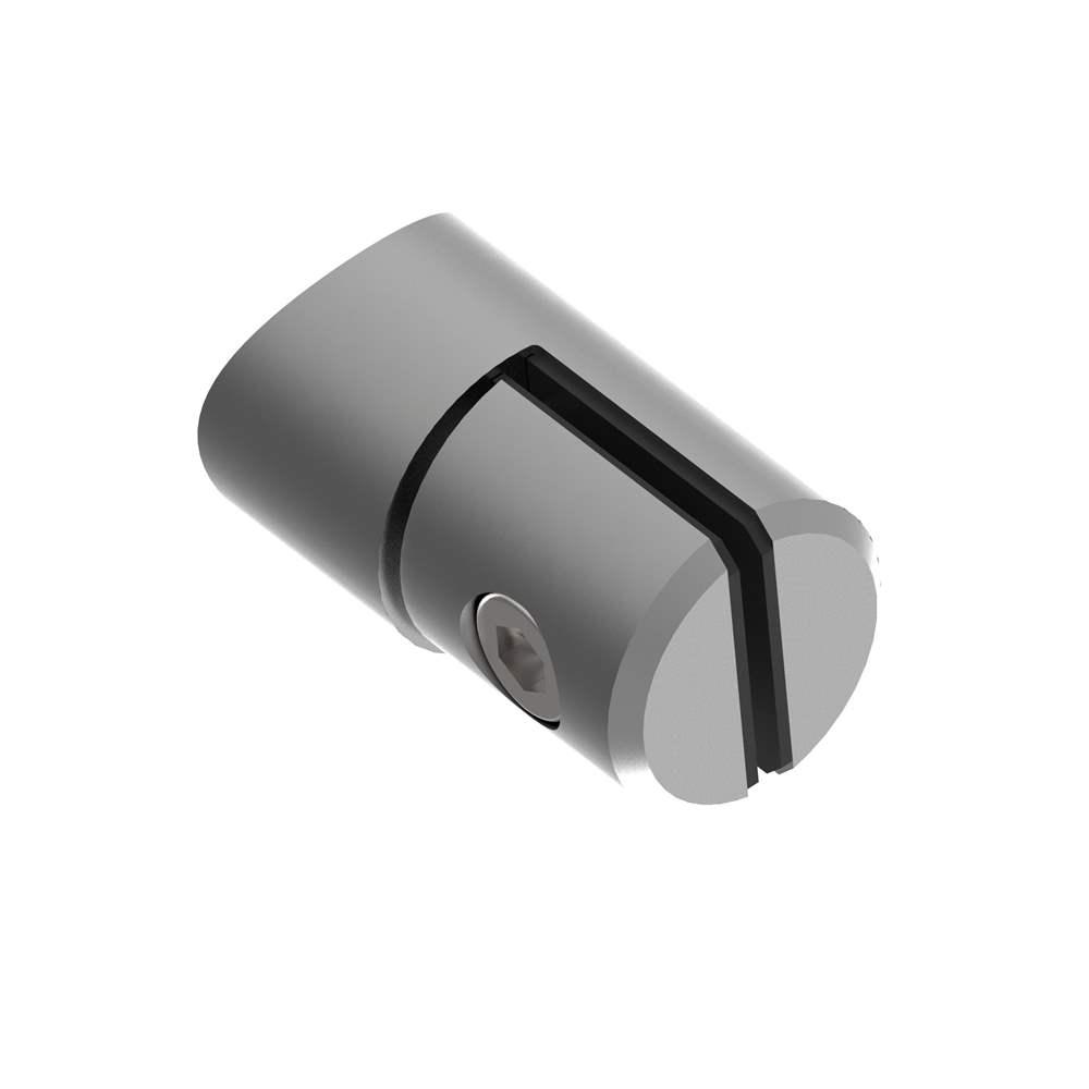 Blechhalter Ø 25 mm für Anschluss Ø 42,4 mm V2A