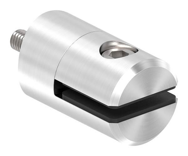 Blechhalter Ø 25 mm V2A für Anschluss Ø 60,3 mm