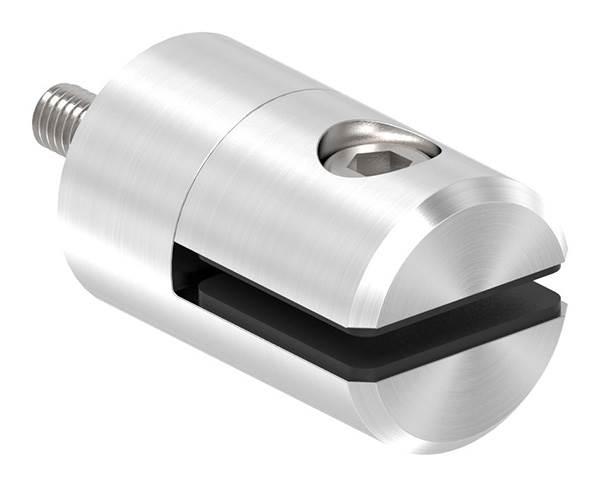 Blechhalter / Plattenhalter / Lochblechhalter Ø 25 mm | Anschluss ■ Flach / Ø 33,7 mm / Ø 42,4 mm  /  Ø 48,3 mm / Ø 60,3 mm