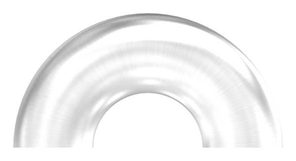 Bogen 180° zum Schweißen für Rundrohr Ø 48,3 mm V2A